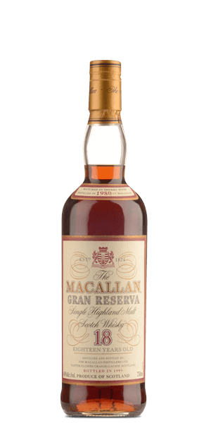 The Macallan 18 Year Old 1980 Gran Reserva