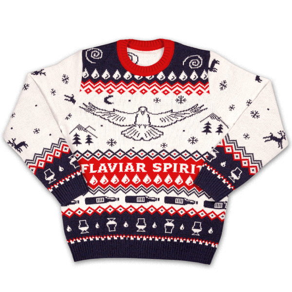 Winter Spirit Sweater (l)