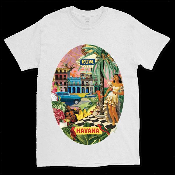 Carousel Collection T-shirt - Havana (male - Xxl)