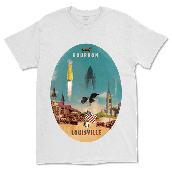 Carousel Collection T-shirt - Louisville (male - Xxl)