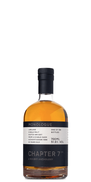 Chapter 7 Monologue 22 Year Old Auchentoshan 1998