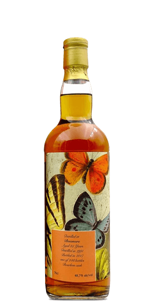 Bowmore 1991 Antique Lions 25 Year Old The Butterflies Series