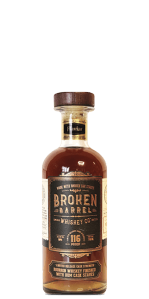 Broken Barrel Cask Strength Rum & Rye Cask Finish Flaviar Exclusive