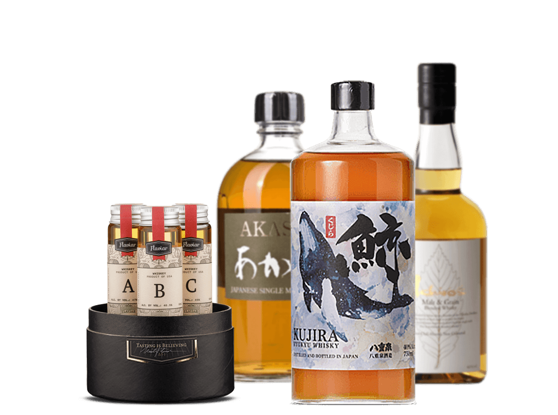 Unboxing Flavor - Japanese Whisky Tasting Webinar