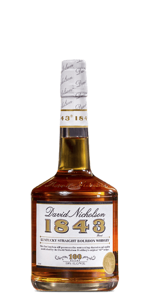 David Nicholson 1843 Bourbon Whiskey