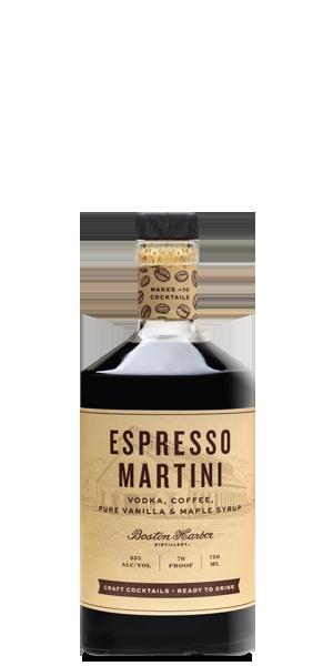 Boston Harbor Distillery Espresso Martini
