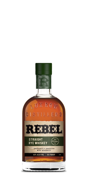 Rebel Straight Rye Whiskey
