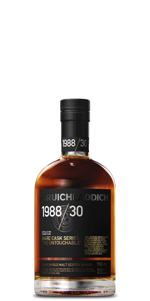 Bruichladdich 30 Year Old 1988 Rare Cask Series: The Untouchable