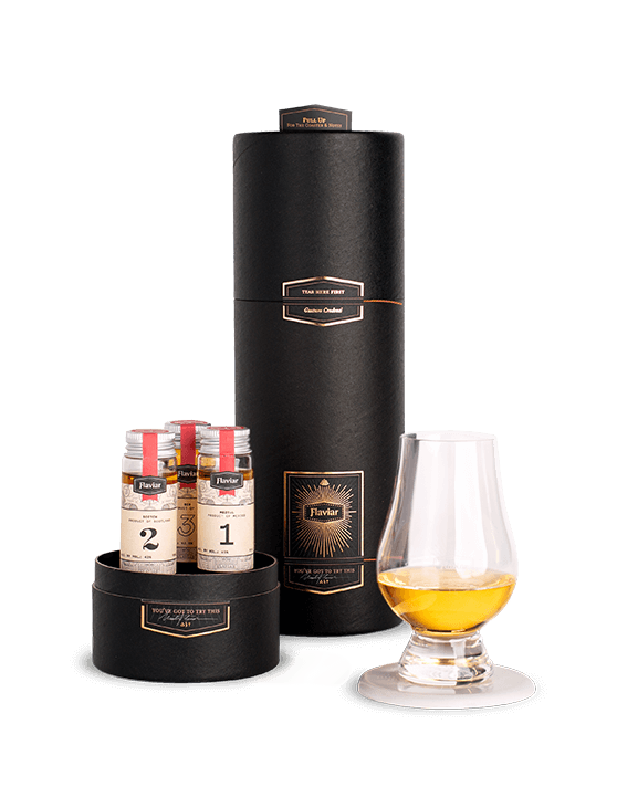 Tasting Box + Whisky Glass